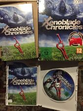 Xenoblade Chronicles for Nintendo Wii - includes red controller -Very Good