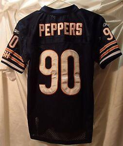 Julius Peppers Chicago Bears Reebok Sewn Football Jersey Youth Size Medium