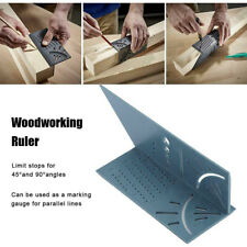 Multi-function woodworking ruler 3D angle measuring instrument measuring tool