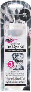 Tulip One-Step Tie-Dye Kit 21764 Tie Dye, Black