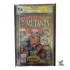 New Mutants 87 cgc Signed by 5 Creators Stan Lee, Todd McFarlane  1st Cable