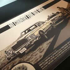 Ken Taylor - No Country for Old Men - Mondo Poster Rolling Roadshow MARFA