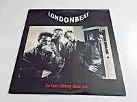 """Londonbeat I've Been Thinking About You 12"""" Single 1991 MCA Vinyl Record"""