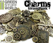 Steampunk COLGANTES con Ruedas Engranajes Set 85 gr (7-10 piezas) Abalorios ***