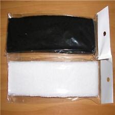 2UNISEX  WHITE&BLACK   HAIRBAND - HEADBAND  - SWEATBAND