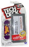 Tech Deck Street Hits Thank You Skate Fingerboard Obstacle LE Sep 2020