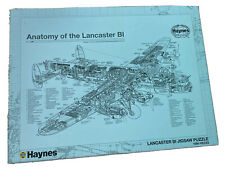 Jigsaw Puzzle HAYNES ANATOMY OF THE Lancaster B1 1000 PIECE Complete Boxed