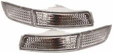 AUTOART TOYOTA MR2 2 91-99 CRYSTAL CLEAR CHROME FRONT INDICATOR REPEATER LIGHTS