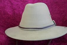 SOLID CROWN SZ LARGE HAT STYLE MC21 DORFMAN  KAKI COLOR UVF50+ SNAP SIDE NWT