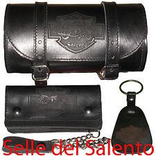 Barilotto Portachia Portafoglio Biker Wallet Leather geldbörse wallet with chain