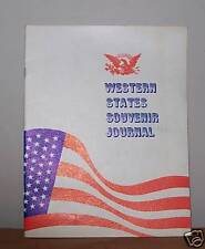 DEMOCRATIC WESTERN STATES SOUVENIR JOURNAL 1963  Political