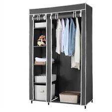 Portable Wardrobe Clothes Closet, Durable Non-woven Fabric Storage Organizer