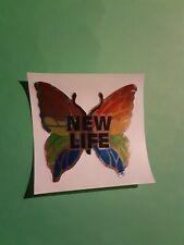 vtg 80's hambly studios mylar butterfly sticker *restored*(free ship $20 min)