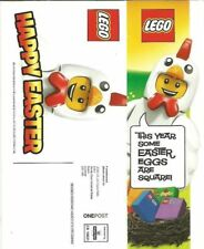 LEGO rare UK Easter 2015 flyer for Lego stores TOYS fanclub