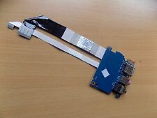 Acer Aspire 3810T USB Audio Jack Board and Cables 6050A2270101
