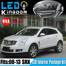 13 X White SMD LED Lights Interior Package Combo Kit 2008-2013 for Cadillac SRX