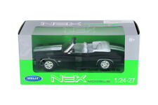 1:24-27 Black 1971 Chevy Chevelle SS 454 Convertible WELLY DIECAST CAR