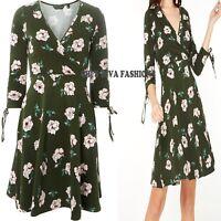 NEW EX DOROTHY PERKINS Super Cute Floral Fit & Flare Mini Dress Sizes 10-18