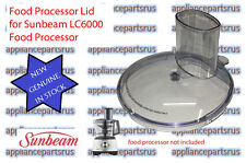 Sunbeam LC6000 Food Processor Lid - Part LC60001 - NEW - GENUINE - IN STOCK