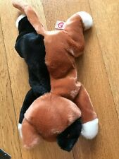 """Ty Beanie Buddies CHIP White,Black, Ginger CAT VGC, with swing tag 12"""" + Tail"""