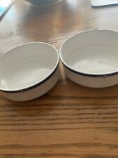 Set Of 2~ Lenox Decor Valley Forge Berry Bowls 5� #7879
