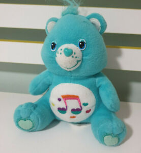 HEARTSONG BEAR CAREBEAR 2009 HUNTER LEISURE 18CM SONG NOTE ON BELLY!