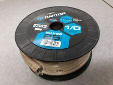 Raptor 1/0 AWG Copper Clad Aluminum Power Wire - 25 Feet