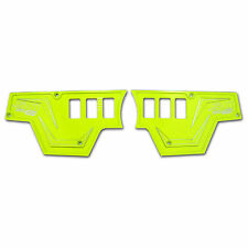Lime Squeeze Polaris Rzr Xp1000 Rocker Switch Dash Panel Aluminum Set of 2