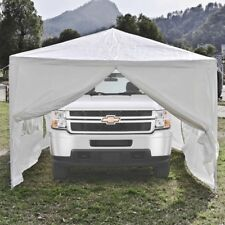ALEKO Portable Garage Carport Car Shelter Party Tent  30 x 10 Ft Canopy White