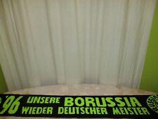 """Dortmund Fan Schal """"UNSERE BORUSSIA ´96 WIEDER DEUTSCHER MEISTER"""" Neu"""