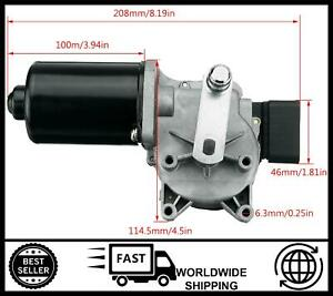 Front Wiper Motor FOR Fiat Ducato 140 Natural Power [2009-2016]