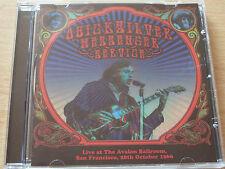 QUICKSILVER MESSENGER SERVICE LIVE AT AVALON BALLROOOM SAN FRANCISCO Oct 1966 CD