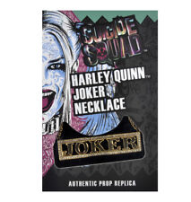 Harley Quinn Joker - Suicide Squad Necklace - Noble Collection Authentic Prop Re