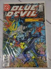 Blue Devil #17 VG//FN 5.0 1985 Stock Image Low Grade