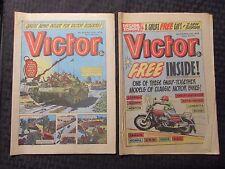 1979 Victor Uk Fleetway Weekly Newspaper Comic Vg/Vg+ #974 976