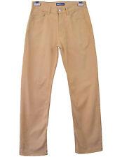 CERRUTI Vtg Retro 90s Tan Brown Designer Jeans Unisex High Waisted sz 30 L34 R20