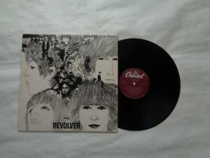 THE BEATLES REVOLVER Capitol Records EMI SW 2576 Recorded in England 1966 -