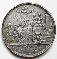 ENTREE DE LOUIS XVIII A PARIS LE 3 MAI 1814 - FONTE DE FER (graveur : Andrieu)