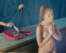 Lithografie Bernard Stephan Moldawan - Electric Feather