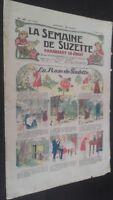 Revista Dibujada La Semana De Suzette que Aparecen El Jueves 1928 N º 46 ABE
