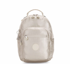 Kipling Small Backpack SEOUL S Tablet Protection CLOUD METAL Holiday2019 RRP £87