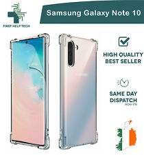 Samsung Galaxy Note 10 Case Cover ShockProof Soft Bumper Case Clear TPU Silicone