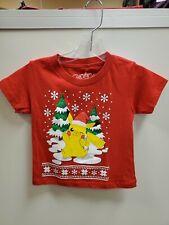 $16 MACY'S Pokemon Little boys Red T-shirt pikachu Christmas size 2 toddlers