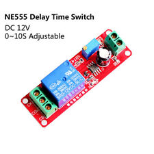 DC 12V Turn-on/off 0 To 10 Second NE555 Delay Module Timer Switch Relay Shield