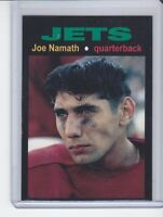 Joe Namath '65 New York Jets rookie season MC Glory Days #6