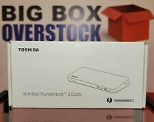 New listing Pa5281U-2Prp Dynabook Thunderbolt 3 Dock w/ 0.7m Cable - Factory Sealed