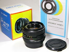 Helios-44m-7 2/58mm with Nikon-F bayonet lens.year of production: 1993 and later