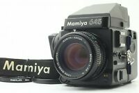 [N.MINT] MAMIYA M645 Super AE + Sekor C 80mm F/2.8 N Lens + 120 Back from JAPAN