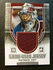 2013-14 Between the Pipes Jerseys Silver #GUM48 Patrick Roy #ed/180
