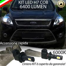 KIT FULL LED FORD KUGA MK1 LAMPADE ABBAGLIANTE LED H7 6000K BIANCO NO ERROR